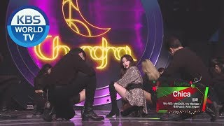 CHUNG HA - Chica & Snapping [Music Bank / 2019.12.20]