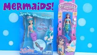 Nixies Mermaid Narissa And My Magical Mermaid Pearl Comparison Review