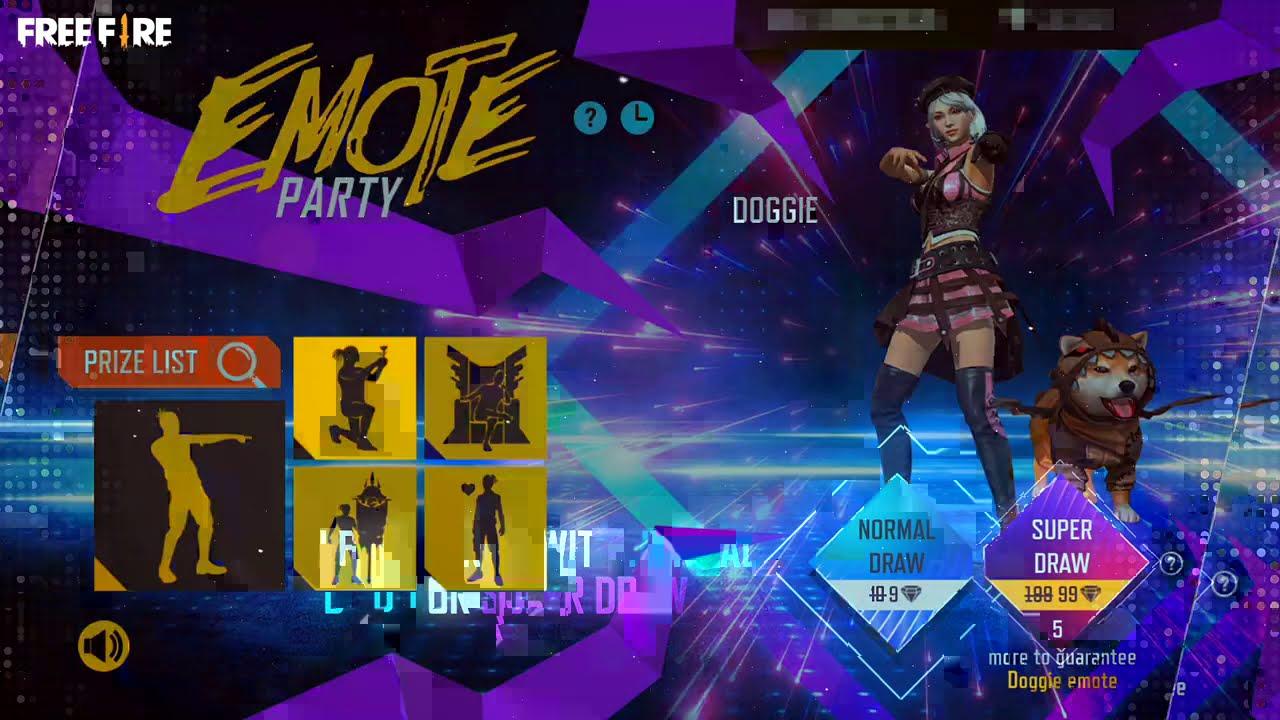 Emote Party