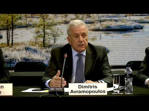 Remarks by Commissioner Avramopoulos at the EU-Western Balkan JHA Ministerial Forum Press Conference