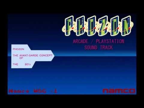 Phozon arcade & PlayStation soundtracks (Namco)