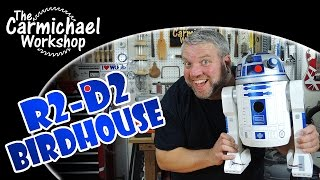 R2-d2 Birdhouse - Star Wars Day 2015 Woodworking Project
