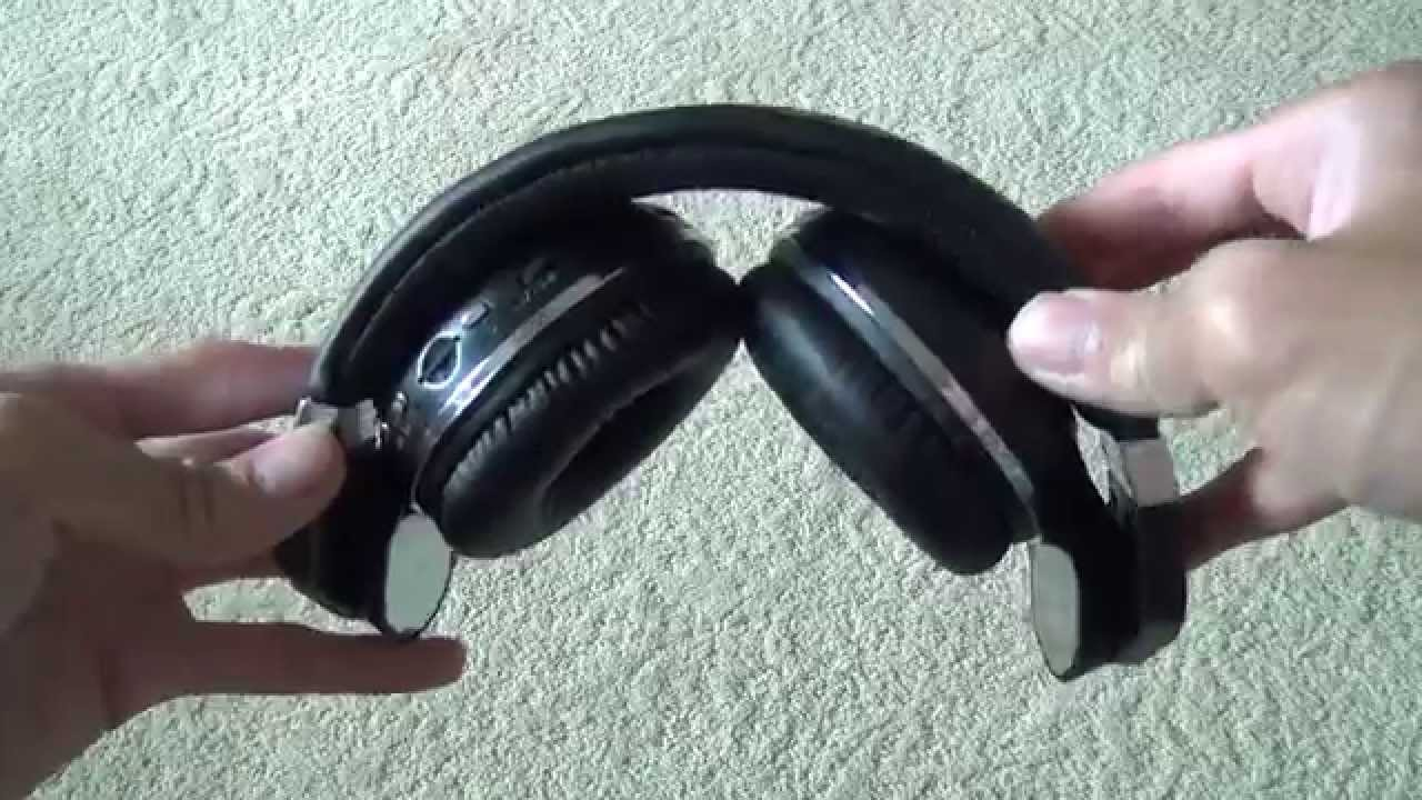 Bluedio T2+ Bluetooth Stereo Headphones SD SLot With FM/AM