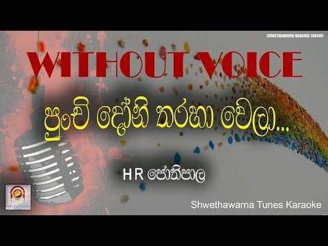 punchi-doni-tharaha-wela-(without-voice)-karaoke-hr-jothipala