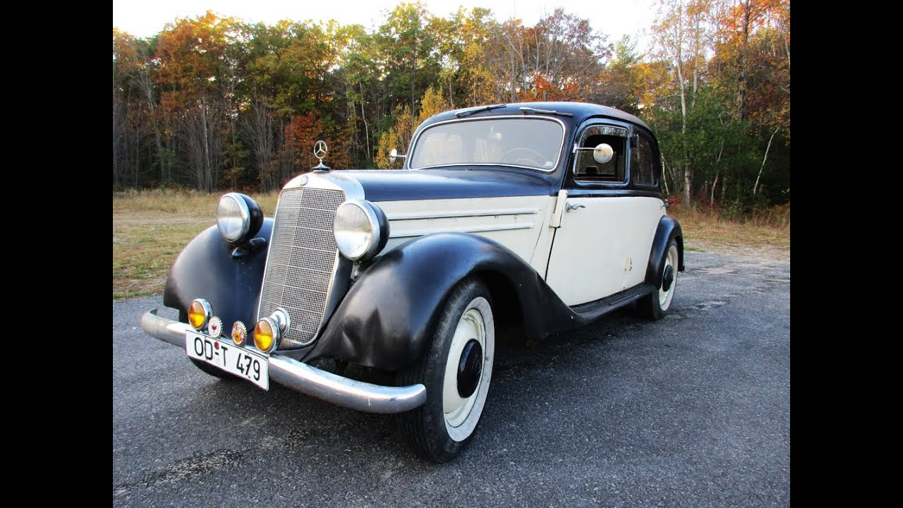 1952 mercedes 170 diesel for sale or trade motorland. Black Bedroom Furniture Sets. Home Design Ideas