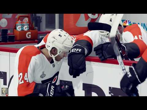 NHL 18: Penguins vs Flyers - PLAYOFF MODE