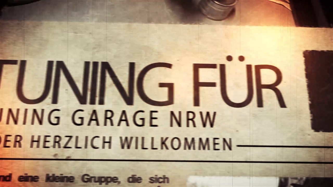 tuning garage nrw news youtube. Black Bedroom Furniture Sets. Home Design Ideas