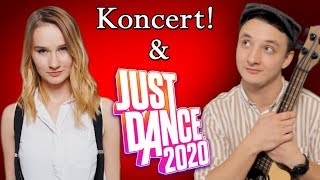 Koncert z Dominiką + Gramy w JUST DANCE 2020! :) - Na żywo