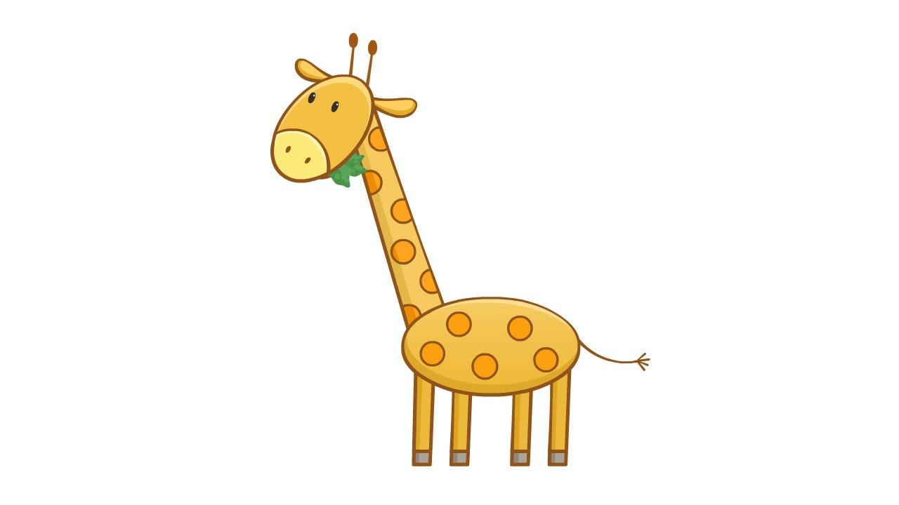гифка жующий жираф или другой обивке