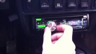 Видео обзор JVC KD-R453EY. Установлен в Ниве