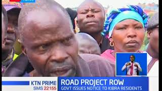 Kibera residents claim they are victims of a diverted project path