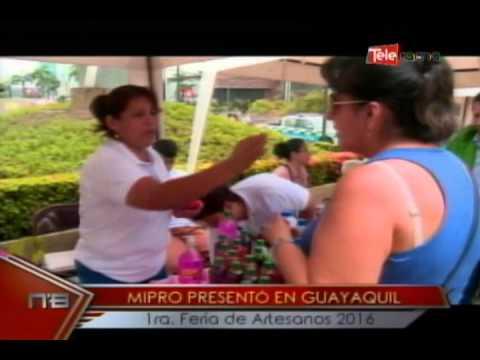 Mipro presentó en Guayaquil 1ra. Feria de Artesanos 2016