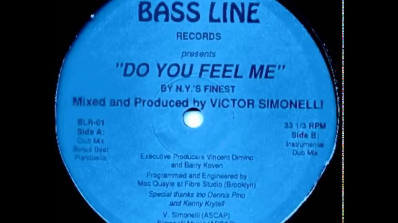 DO YOU FEEL ME [GR1253] - NY'S FINEST - GROOVIN RECORDINGS
