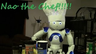 Nao the Robot Chef