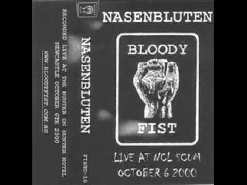 Nasenbluten - Live at NCL Scum - Newcastle, Australia - 6 Oct 2000
