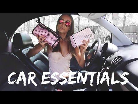 CAR ESSENTIALS FOR GIRLS