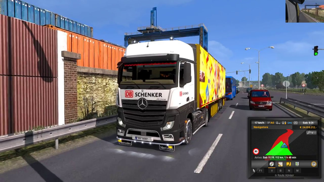 Euro Truck Simulator 2 (1 28) AI Traffic Pack by Jazzycat v5 7 + DLC's &  Mods