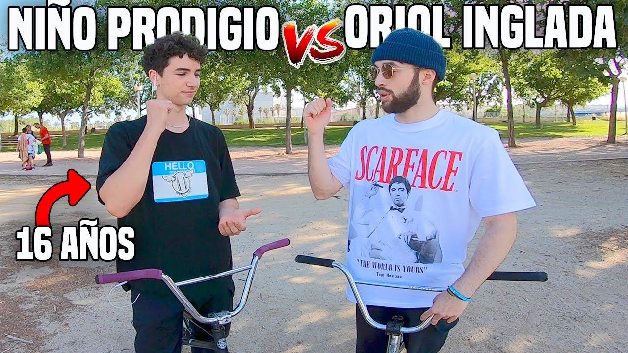 Oriol Inglada vs Niño Prodigio - BMX GAME OF BIKE