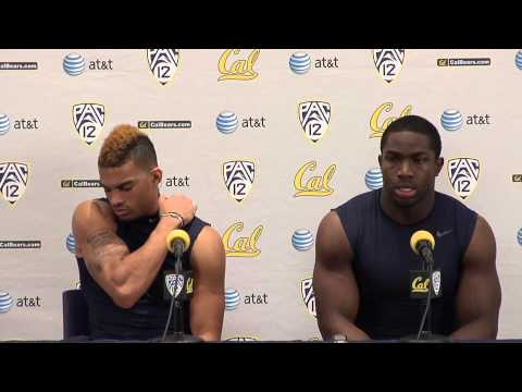 Cal Football: Chris Harper & Nick Forbes - Washington Post Game (11/2/12)