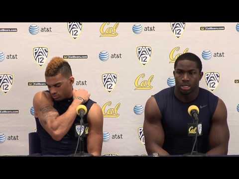 Cal Football: Chris Harper & Nick Forbes - Washington Post Game (11/2/12)