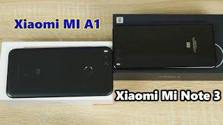 ФОТО БАТЛ! Кто лучше фоткает смартфон за 200$ или за 350$? Xiaomi Mi Note 3&Xiaomi MI A1