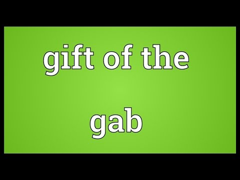 Gab Meaning - YouTube