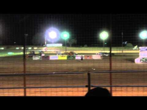 Sprint Series of Texas at Boyd Raceway 8/7/15 B-Main Feature