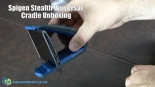 Spigen Stealth Universal Cradle Unboxing(, 2015-09-23T09:48:47.000Z)