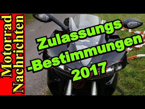 ZULASSUNGSBESTIMMUNGEN 2017 Für Motorräder   EURO 4 Auflagen   Motorrad Nachrichten 110