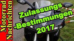 ZULASSUNGSBESTIMMUNGEN 2017 für Motorräder | EURO 4 Auflagen | Motorrad Nachrichten 110
