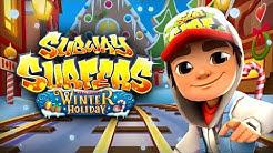 Subway Surfers Tren Oyunu, subway free game, Jake 'nin Kış Tatili Tren Yolu Koşusu - Uslu Cocuk