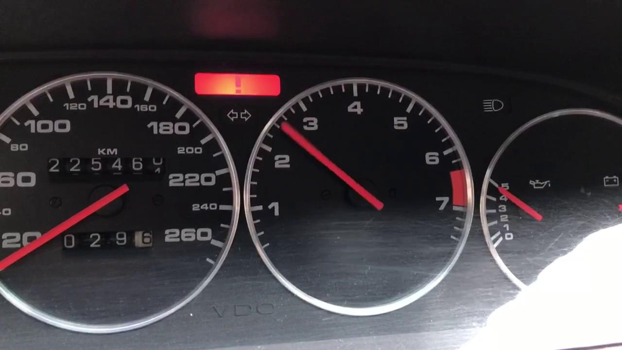Bouncing rpm gauge porsche 944