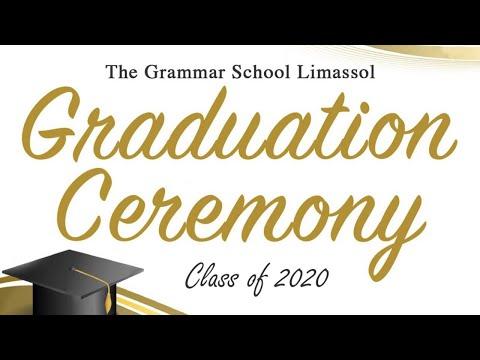 Graduation Ceremony - The Grammar School Limassol Class 2020