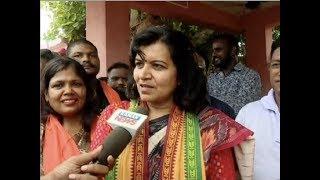 Exclusive Interview With BJP's Lok Sabha Candidate Aparajita Sarangi