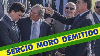 SÉRGIO MORO DEMITIDO