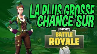 UNE CHANCE JAMAIS VU SUR FORTNITE BATTLE ROYALE - Mini Clip