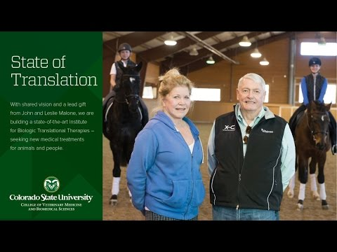 CSU Receives Record $42.5 Million Gift for Regenerative Medicine from John and Leslie Malone