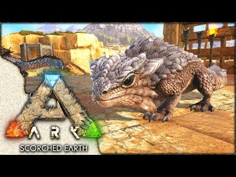 ARK: Scorched Earth ~ Ep 17 ~ Thorny Dragon Breeding!