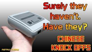 Super Nintendo Classic Mini - Chinese Knock Offs - 4K