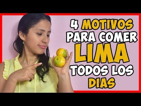 ¡Los 4 Motivos Para Comer Lima A Diario! ¡Beneficios De La Lima!