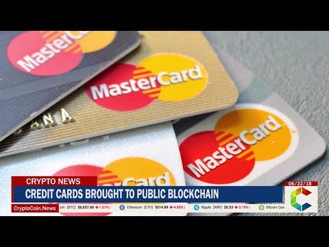 Credit Cards Brought to Public Blockchain by Mastercard Pate