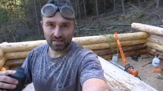 Off Grid Log Cabin Build - Scribe Fit Part 2