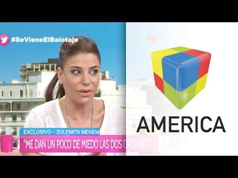 """Zulemita Menem: """"La familia Macri fue una de las más favorecidas en los 90"""""""