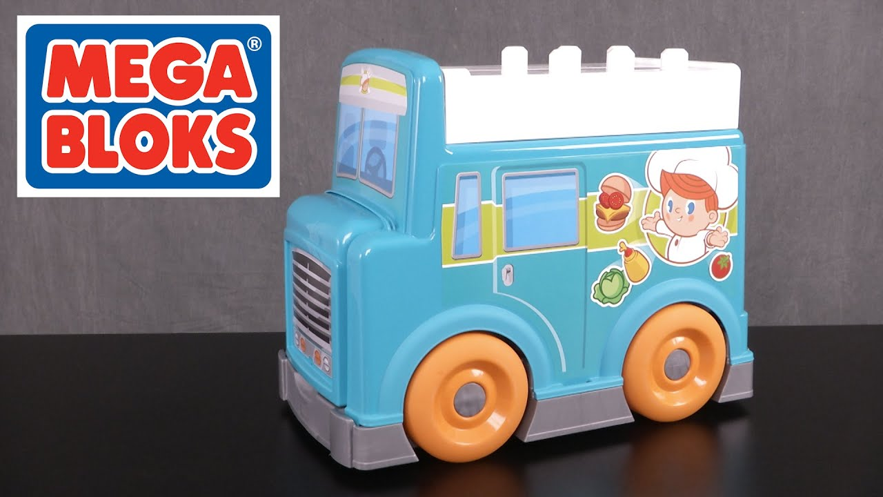 MEGA Bloks Food Truck Kitchen from Fisher-Price - YouTube