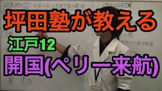 【日本史】江戸12 開国(ペリー来航) (ぱんだの日本史、ぱんだの特別...