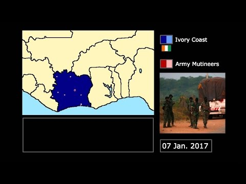 [Wars] The Ivory Coast Mutiny (2017): Every Day