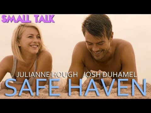 Julianne Hough and Josh Duhamel Can't Stop Laughing in SAFE HAVEN Interview