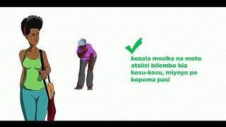 Informations coronavirus (covid-19) en lingala
