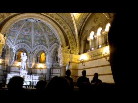 Pro Musica Hungarica Choeur de l'Université Lóránd Eötvös de Budapest - Lyon Fourvière  6/13