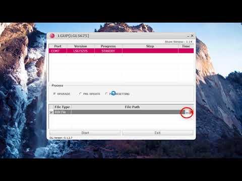 software LG LS675/How to flash ls675 COMO FLASH LG K7 KDZ 2018